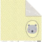 21649 - Papel Scrap - Sonho Colorido - Coleção Sonhos nos Alpes - Juju Scrapbook