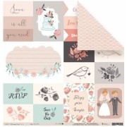 Papel Scrap - Dia de Festa - Coleção Felizes para Sempre - Juju Scrapbook (22289)