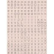 Adesivos Letrinhas Rosas - Coleção Felizes para Sempre - Juju Scrapbook (22311)