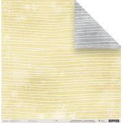 22459 - Papéis Scrap - Fios de Lã - Coleção Toda Básica - Juju Scrapbook