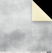 Papel Scrap - Triangulinhos - Toda Básica - Juju Scrapbook (22461)