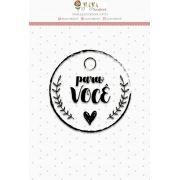Carimbo Mini Para Você - Coleção Love Scrap - Juju Scrapbook (23539)