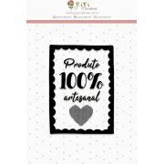 23543 - CARTELA DE CARIMBOS - M JUJU SCRAPBOOK LOVE SCRAP 100% ARTESANAL