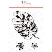 Carimbos Mini Bosque Encantado - Coleção Paraíso Tropical - Juju Scrapbook (23649)
