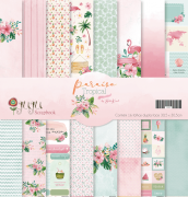23680 - Kit papéis Juju Scrapbook Paraiso Tropical