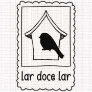 392 - Carimbo - Selo Lar Doce Lar - Goodies