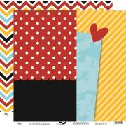 8513 - Magia e Magic Chevron - Ok Scrapbook