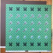 Papel Scrap - Tag Pixel Game e Marrom Terra - Ok Scrapbook (8703)