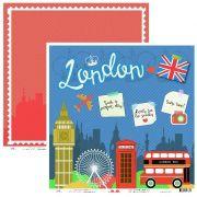 9511 - VIAGEM LONDON - OK SCRAPBOOK