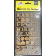 Alfabeto Adesivo em Cortiça - Art e Montagem (AD131)