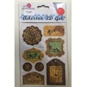 Adesivo 3D Gel - Art e Montagem (AD145)
