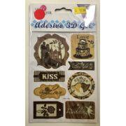 Adesivo 3D Gel - Art e Montagem (AD154)