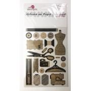 Adesivo artesanal - Costura - Art e Montagem (AD172)