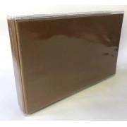 Álbum miolo plástico para 36 fotos 10 x 15 cm - Marrom - Paperchase (2223-M)