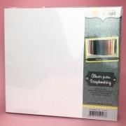 Álbum para Scrapbooking G - Branco - Oficina do Papel (0604020)