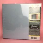 Álbum Scrapbook G - Azul Claro - Oficina do Papel (0604009)