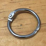 Argola Articulada - 25 mm - prata (Arg02)