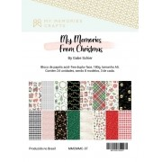 Bloco A5 Coleção My Memories From Christmas - My Memories Crafts (MMCMMC-07)