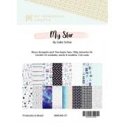 Bloco A5 Coleção My Star - My Memories Crafts (MMCMS-07)