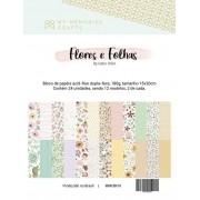 Bloco de Papéis - Flores e Folhas - My Memories Crafts (MMCBF-01)