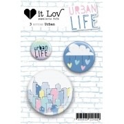 Bottons Urban - Coleção Urban Life - It Lov (BIL002)