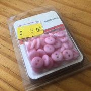 Mini Botões (7mm) - Rosa - Art e Montagem (BTS01R)
