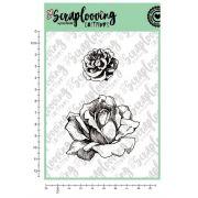 Carimbo Cartela Floral 03 - Scraplooving (C153)