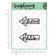 Carimbo Arrows - Scraplooving (C56)