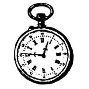 Carimbo Relógio - Arte Fácil (CA-276)