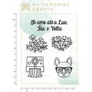 Carimbo de Silicone My Star - Coleção My Star - My Memories Crafts (MMCMS-08)