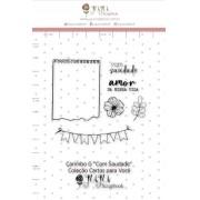 Carimbo G Com Saudade - Coleção Cartas para Você - Juju Scrapbook (J11693)