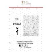 Carimbo G Manuscrito - Coleção Cartas para Você - JuJu Scrapbook (11689)