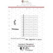Carimbo G Recadinho - Coleção Cartas para Você - JuJu Scrapbook (11681)