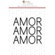 Carimbo Mini Muito Amor - Coleção Felizes para Sempre - JuJu Scrapbook (9551)
