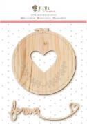 Cartela de enfeite pinus Forever - Coleção Amizade é tudo - Juju Scrapbook (10057)