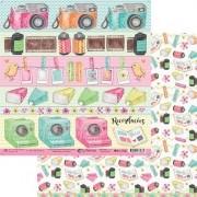 Kit Papéis Coleção My Memories - My Memories Crafts