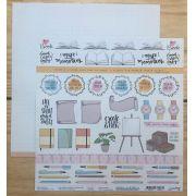 Kit Papéis Coleção Nossa História - Goodies