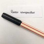 Caneta Compactor 0,4 - Preto (COMP05)