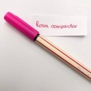 Caneta Compactor 0,4 - Rosa (COMP07)