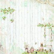 Papel Scrap - Plantando Sonhos - Coleção Dreamland - Dany Peres (DP-DL-04)