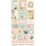 Cartela de Adesivos Journaling - Coleção Fábula - Dany Peres (DP-FB-08)