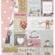 Papel Scrap - Imaginação - Coleção Simplesmente Anne - Dany Peres (DP-SA-05)