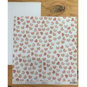 Papel Scrap - Fornada de Amor - Coleção Sweet Love - Dany Peres (DP-SL-03)