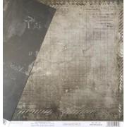 Papel Scrap - Pretinho Básico - Coleção Vai Com Tudo - Dany Peres (DP-VCT-04)