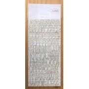 Chipboard Alfabeto - Coleção Vai Com Tudo - Dany Peres (DP-VCT-15)