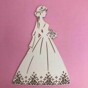 Enfeite Lovely Bride - BG Crafts (BG05)