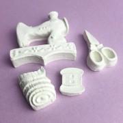 Enfeite resina - Kit costura (R195)