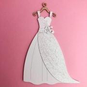 Enfeite Vestido de noiva - BG Crafts (BG11)