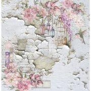 EOL03 - Papel Scrap - Coleção Essence of Life - Carina Sartor
