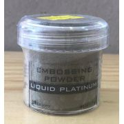 EPJ37484 - Po Artesanal - Specialty 1 Embossing Powders 1 oz. Jar - Liquid Platinum